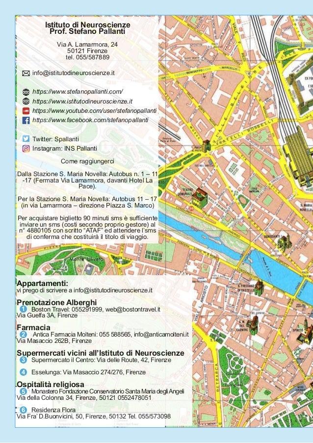 Istituto di Neuroscienze Prof. Stefano Pallanti Via A. Lamarmora, 24 50121 Firenze tel. 055/587889 info@istitutodineurosci...