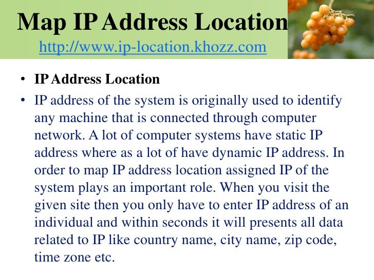 how to change ip address and location