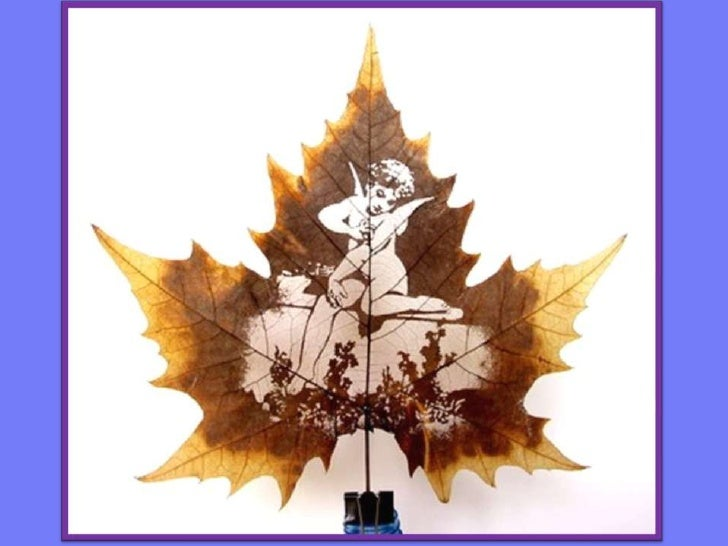Maple leaf carving 楓葉雕刻