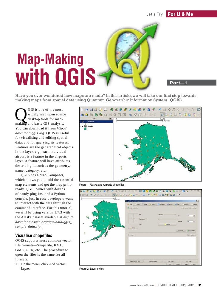 Lets Try       For U & Me Map-Makingwith QGIS                                                                             ...