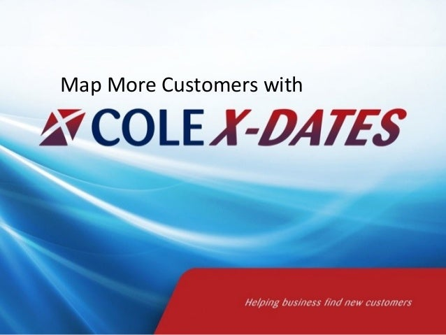 Map More Customers with