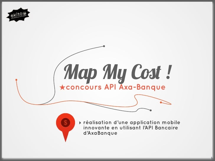 """M!p M"""" C#$ !★concours API Axa-Banque    ‣ réalisation d'une application mobile      innovante en utilisant l'API Bancaire ..."""