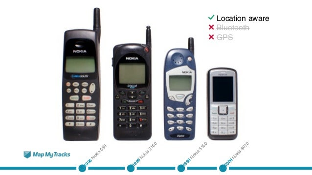 Digibury: Map My Tracks -A brief history of GPS use in mobile phones