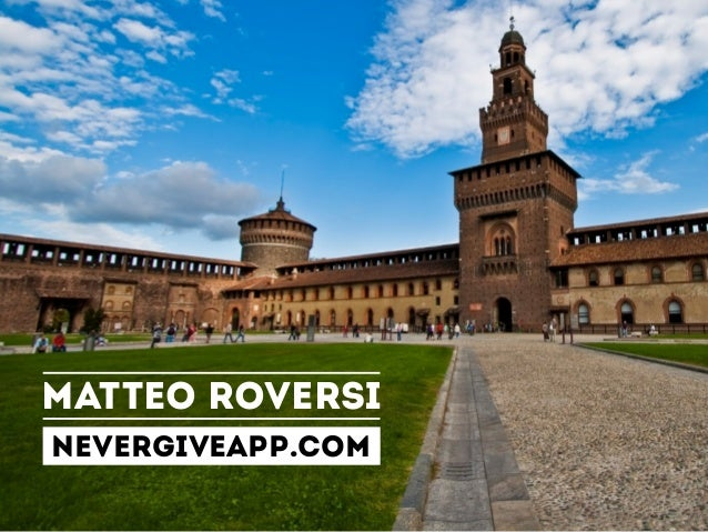 MATTEO ROVERSINEVERGIVEAPP.COM