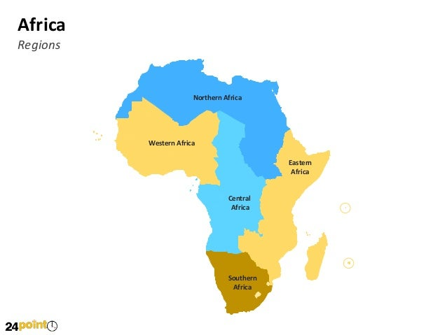 africa map powerpoint