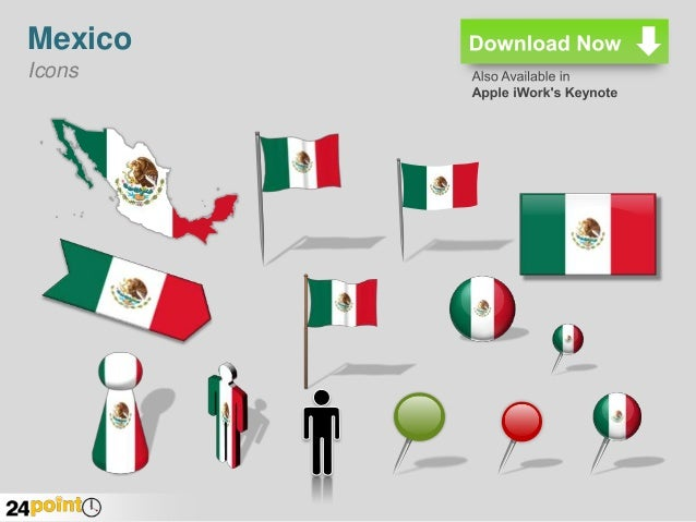 editable map of mexico powerpoint presentation