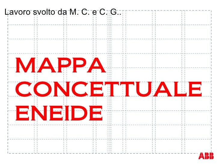 Lavoro svolto da M. C. e C. G..  MAPPA  CONCETTUALE  ENEIDE