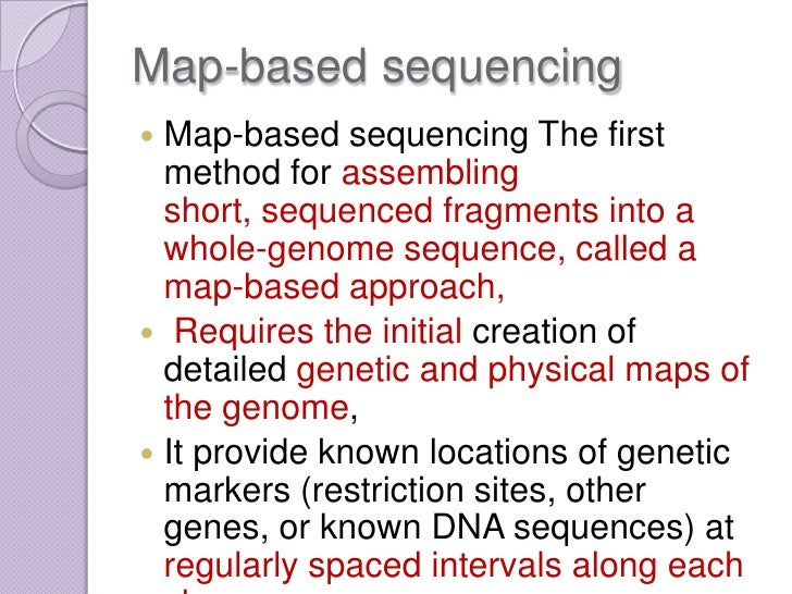 Genome Mapping on