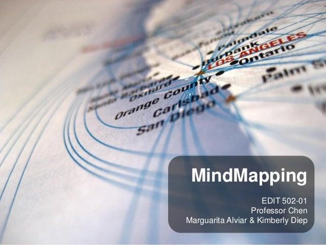 MindMapping                     EDIT 502-01                  Professor ChenMarguarita Alviar & Kimberly Diep