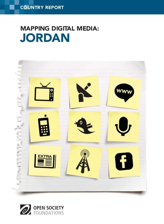 COUNTRY REPORT  MAPPING DIGITAL MEDIA:  JORDAN
