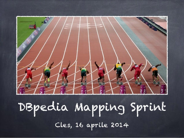 DBpedia Mapping Sprint Cles, 16 aprile 2014