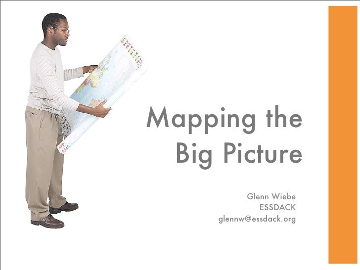 Mapping the  Big Picture            Glenn Wiebe               ESSDACK      glennw@essdack.org