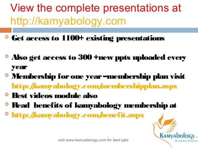 View the complete presentations at  http://kamyabology.com   Get access to 1100+ existing presentations   Also get acces...