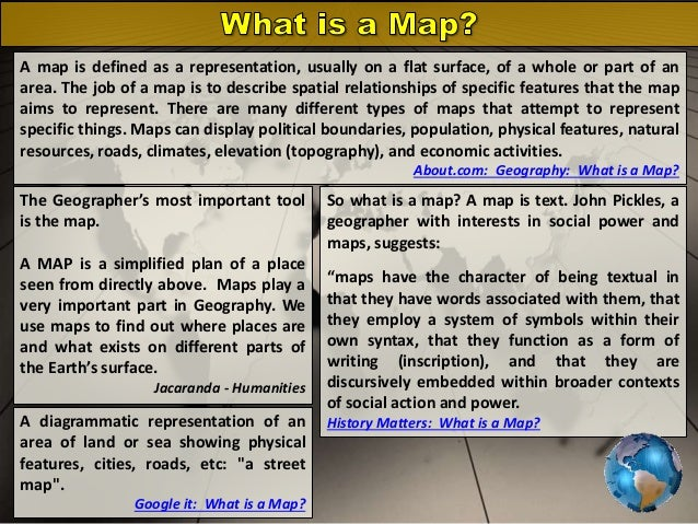 Map Definition Geography BOLTSS   Mapping Geography