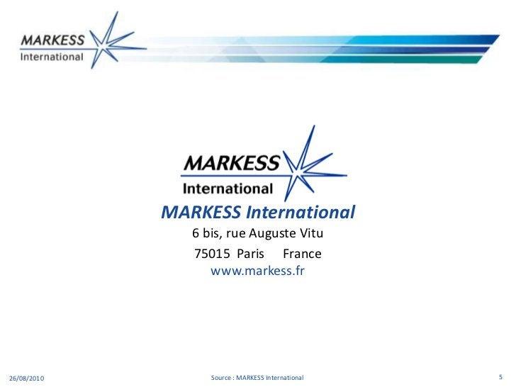Suivez MARKESS International sur son blog , LinkedIn , Facebook , et Twitter </li></ul>Les MARKESS Mappings sont des posit...