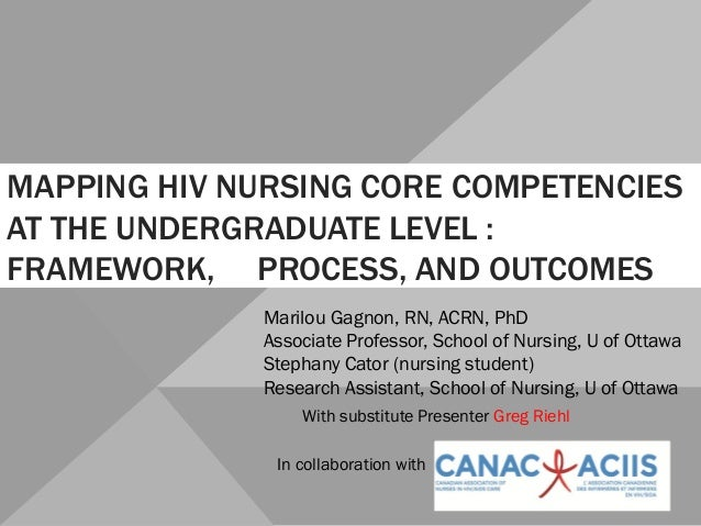 Competencies for Nursing Education