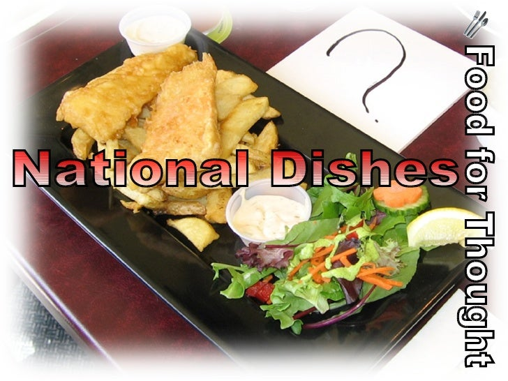 Food for Thought National Dishes