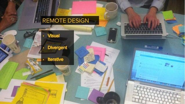 Visualizing UX for Remote Design