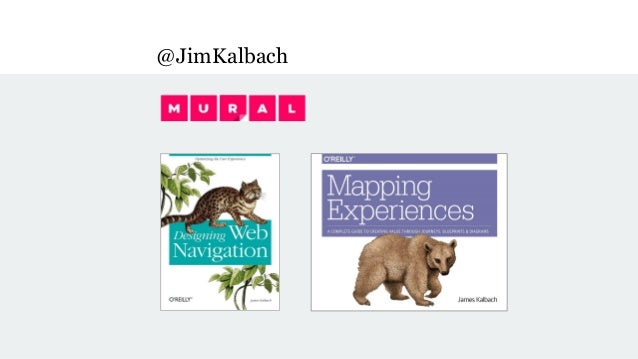 Mapping Experiences - O'Reilly Design Conference 2017 Slide 2