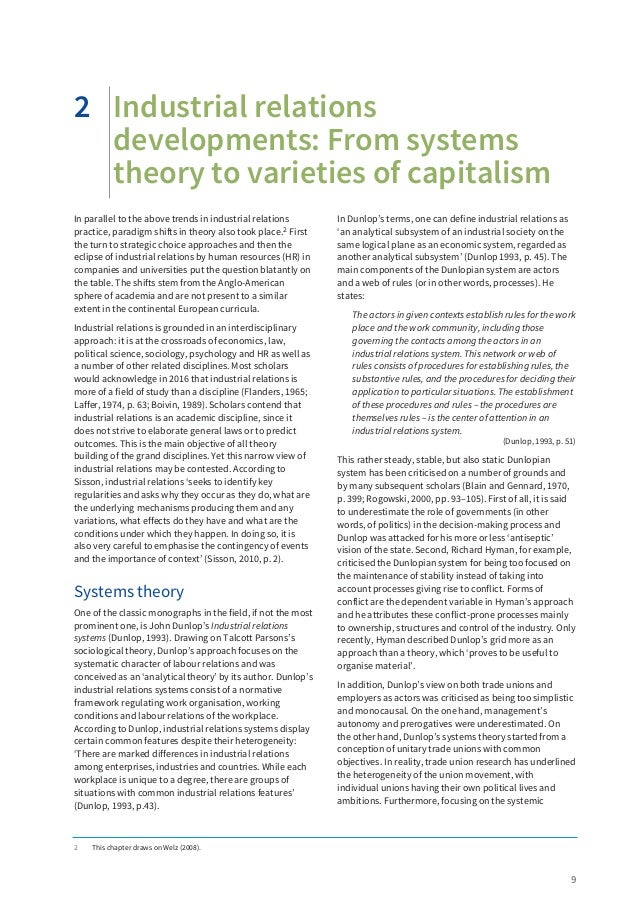 unceasing power struggle in industrial relations Of industrial relations or ordinary social scientists to learn of the fundamental thesis of this paper,  the outcome of the struggles, says raftopoulos, was a.