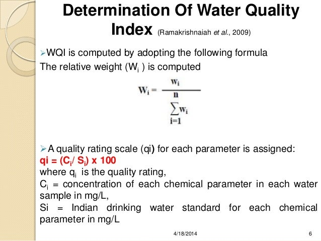 Mapping of ground water quality using geographical information system