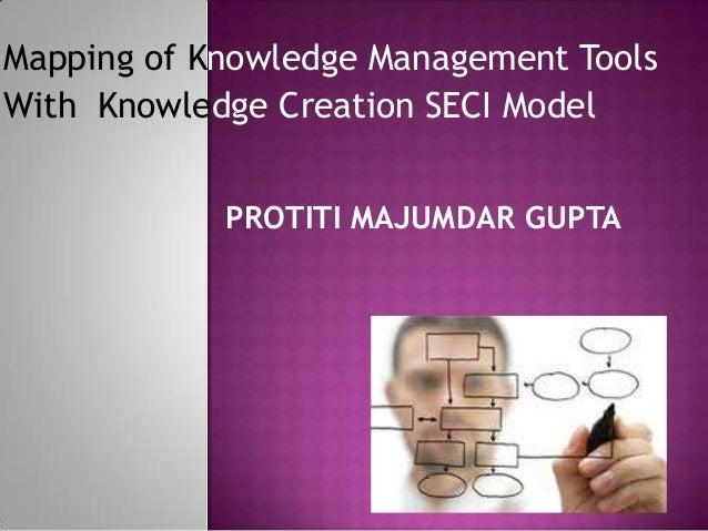 Mapping of Knowledge Management Tools With Knowledge Creation SECI Model PROTITI MAJUMDAR GUPTA