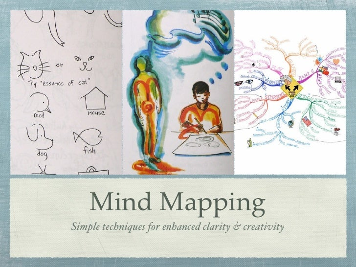 Mind MappingSimple techniques for enhanced clarity & creativity
