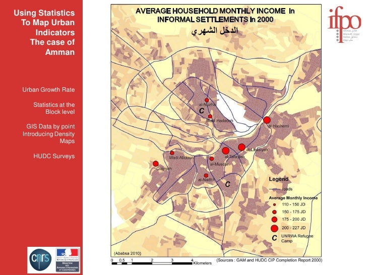 Using Statistics         AVERAGE HOUSEHOLD MONTHLY INCOME in                              INFORMAL SETTLEMENTS in 2000  To...