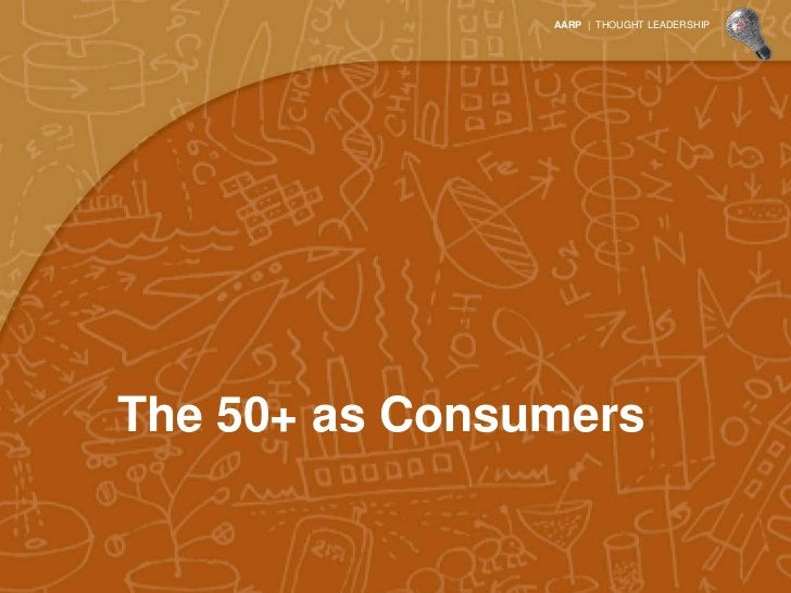 Average consumer spend peaks at 45-54, but aging          baby boomers are likely to continue spending past 65            ...