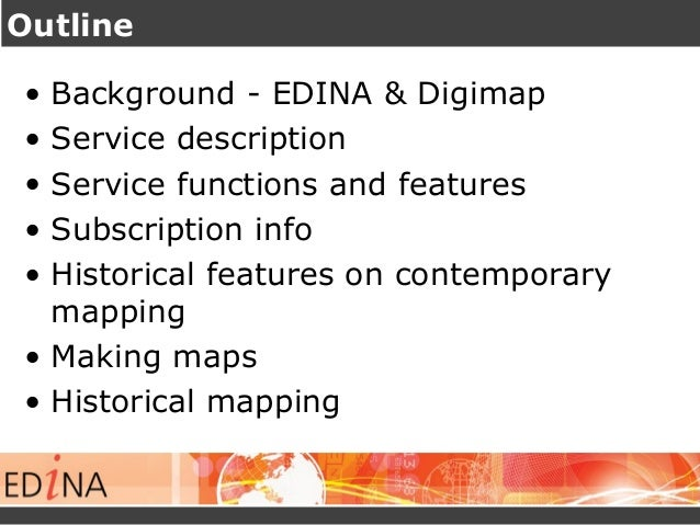 Digimap for Schools: Mapping the Nation Slide 2