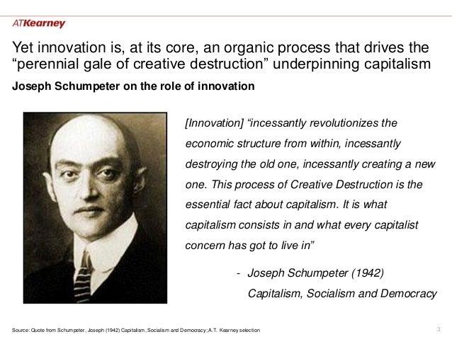 Disruptive Innovation Schumpeter