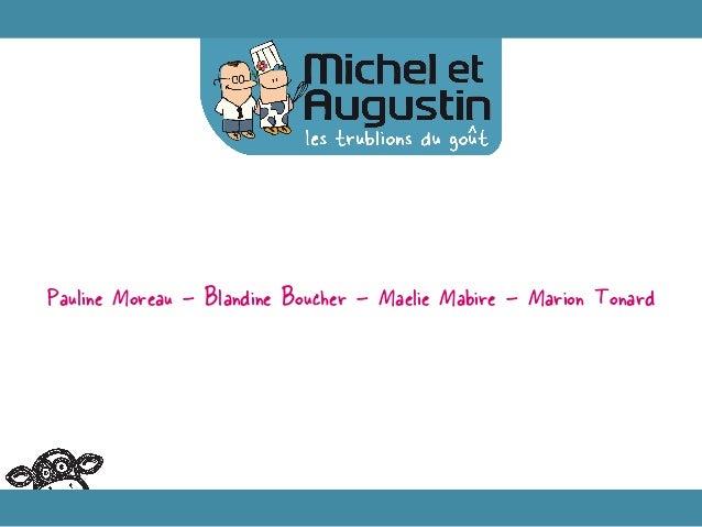 Pauline Moreau – Blandine Boucher – Maelie Mabire – Marion Tonard