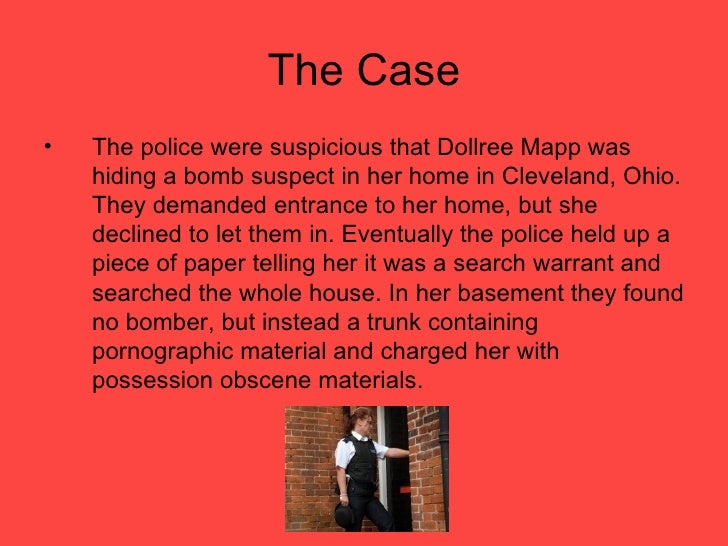 mapp vs ohio cort case