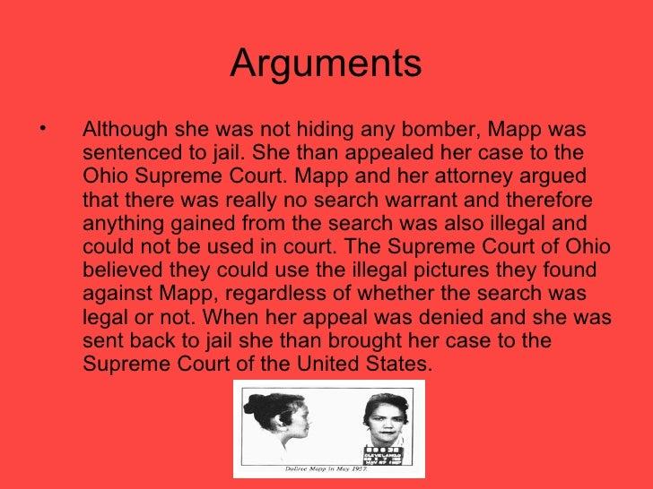 mapp vs ohio case essay writer