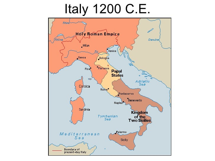 Medieval Map Of Italy.Maps Ancient And Medieval History