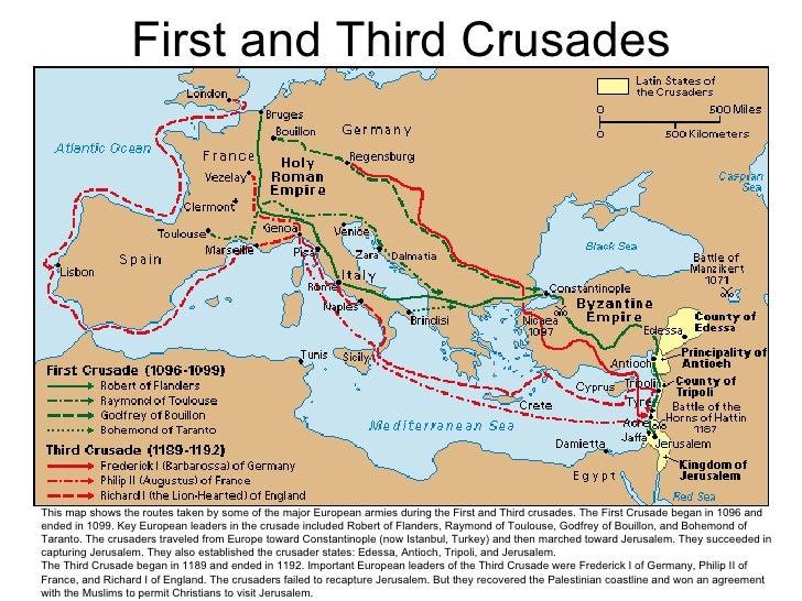 essay on the third crusade