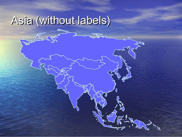 Asia (without labels)