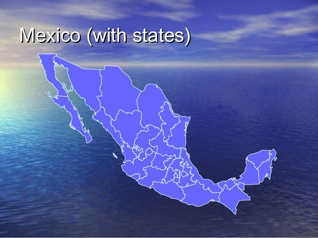 Mexico (with states)