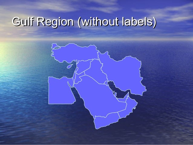 Gulf Region (without labels)