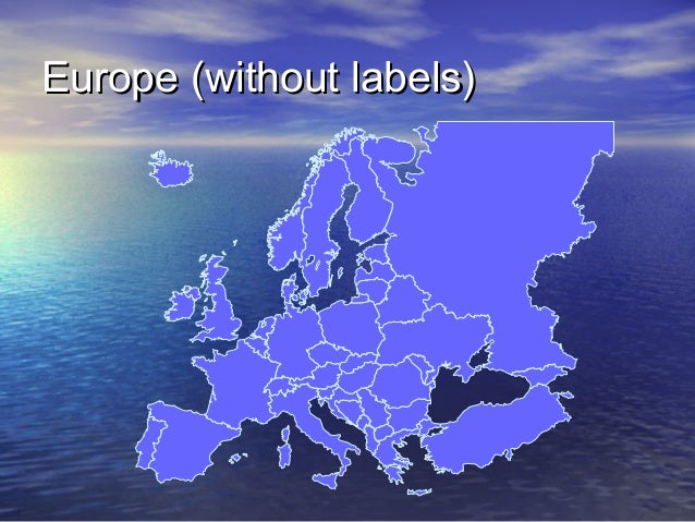 Europe (without labels)