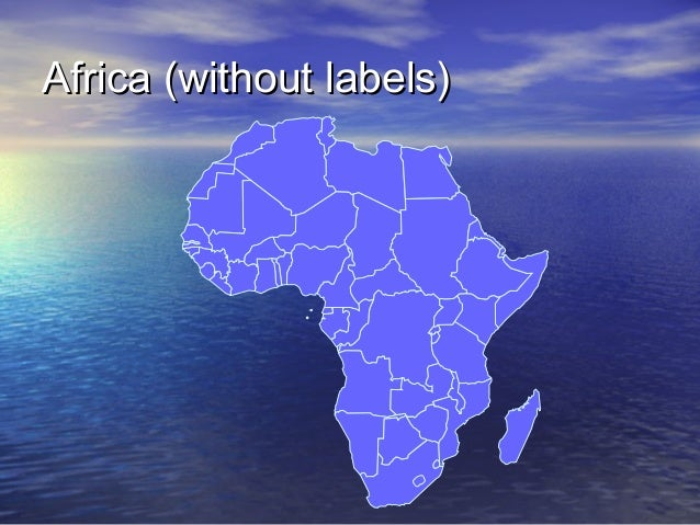 Africa (without labels)