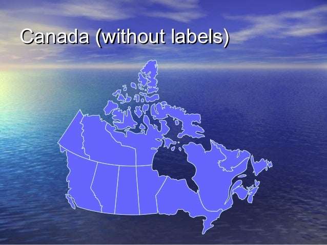 Canada (without labels)