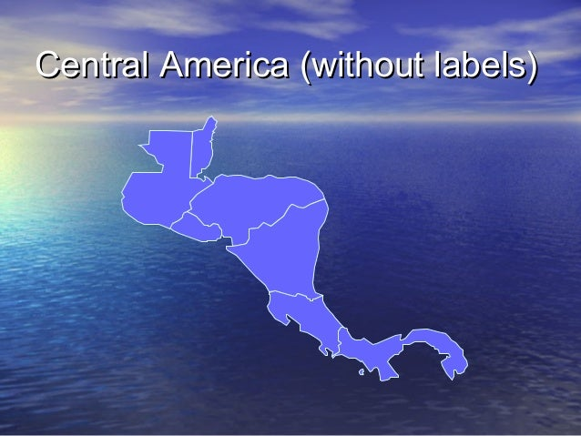 Central America (without labels)