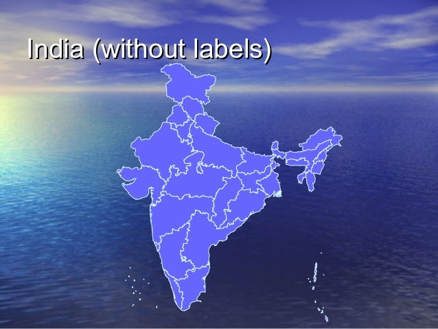 India (without labels)