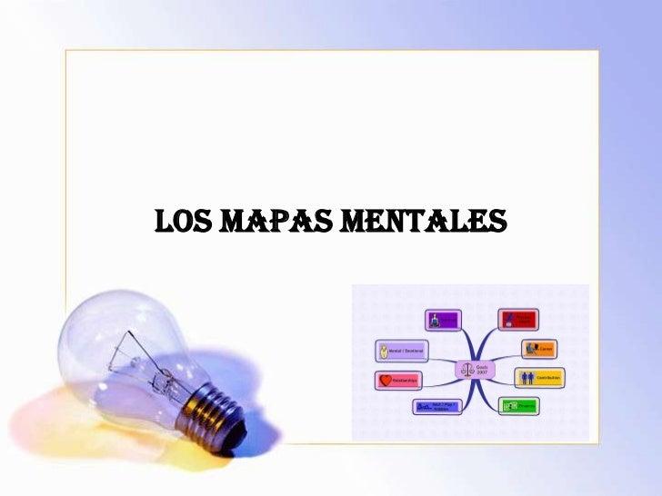 Los mapasmentales<br />