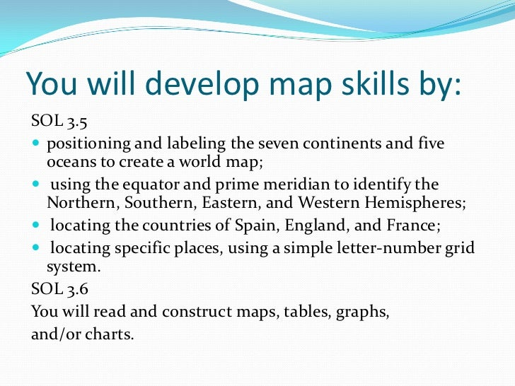 maps and globes power point