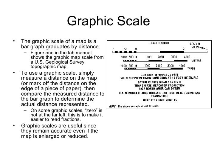 Map scale and projection – Map Scale Worksheet