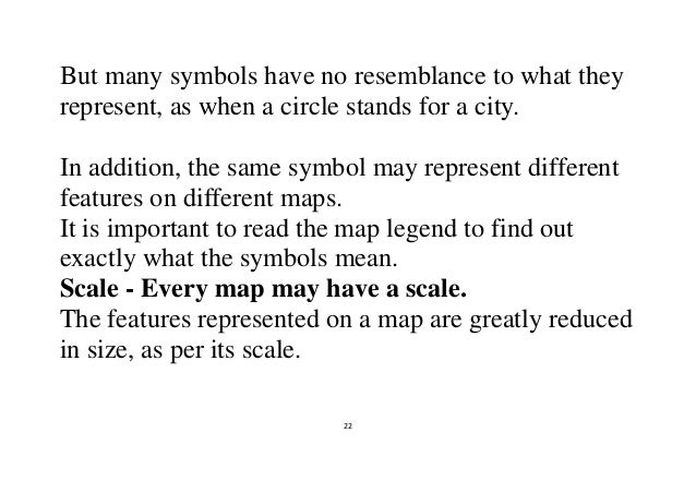 Maps Cartography And Significances