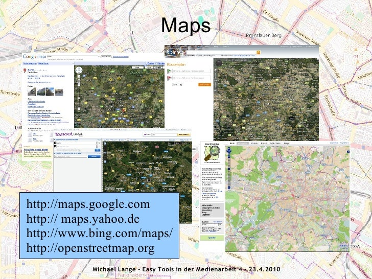 Maps, GPS, Geokoordinaten Slide 2