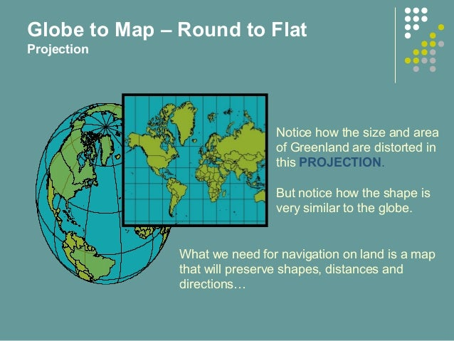 Ontap map and compass globe to map round to flat projection 7 gumiabroncs Gallery
